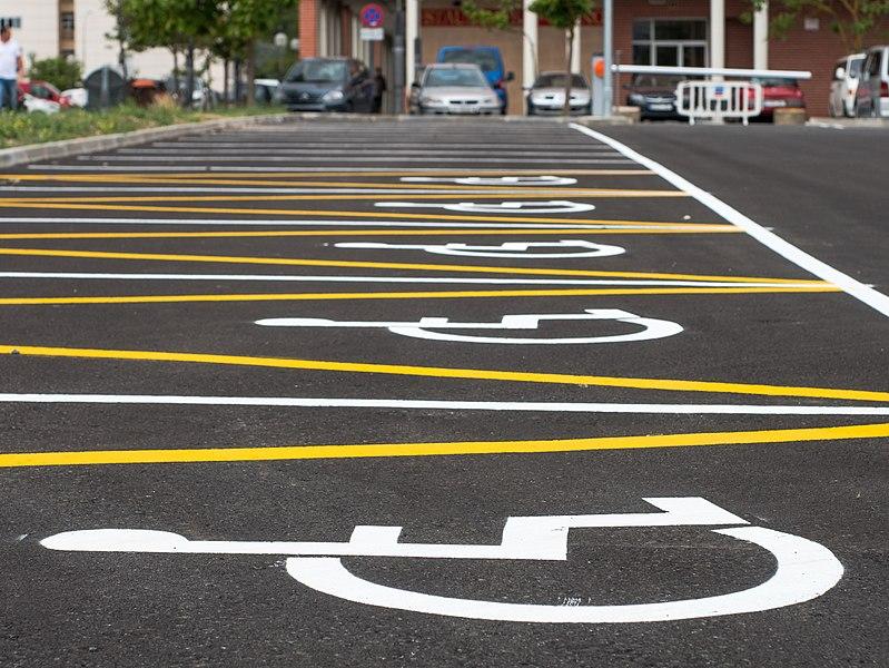 Dr Handicap - disabled parking spaces