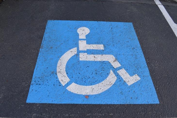 Dr Handicap - disabled parking place